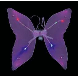 Купить Крылья карнавальные Шампания светящиеся