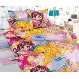 фото Детский комплект постельного белья Бамбино «Подружки»