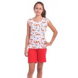 фото Комплект домашний для девочки Свитанак 206554. Рост: 158 см. Размер: 40