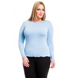 фото Кофта Mondigo XL 1470. Цвет: голубой. Размер одежды: 50