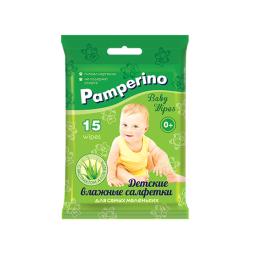 фото Влажные салфетки для детей Pamperino №15