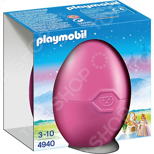 Конструктор для ребенка Playmobil 4940 «Яйцо: Принцесса с туалетным столиком» конструктор playmobil модный бутик девушка в летнем наряде 6882pm