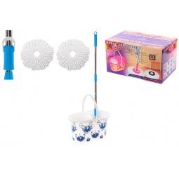 Купить Набор для уборки: швабра, ведро и насадки Violet 09000/78 «Гжель»