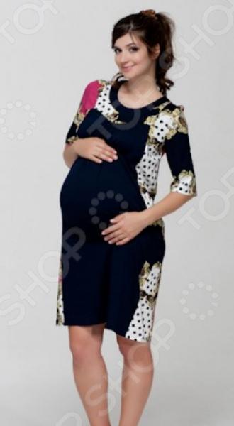 Платье для беременных Nuova Vita 2144.1. Цвет: малиновый платье для беременных asos 3 14