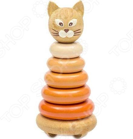 Игрушка-пирамидка Томик «Котенок» игрушка пирамидка мишка топтыжка