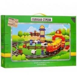 фото Набор железной дороги игрушечный Голубая стрела «Голубая стрела» 87148