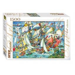 фото Пазл 1500 элементов Step Puzzle Всем в море!