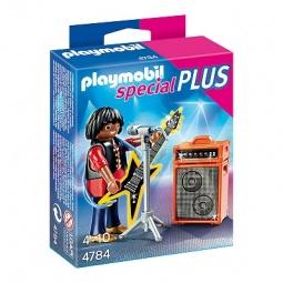фото Набор фигурок к игровому конструктору Playmobil «Дополнение: Рок-звезда»