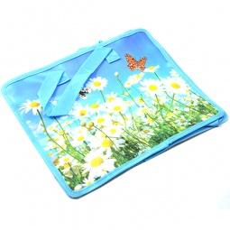 фото Сумка-портфель Beifa «Цветы и бабочки»