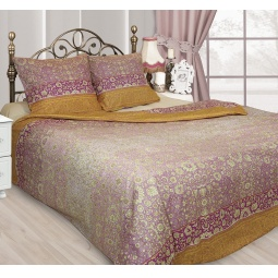 фото Комплект постельного белья Сова и Жаворонок «Индира». 1,5-спальный. Размер наволочки: 50х70 см — 2 шт