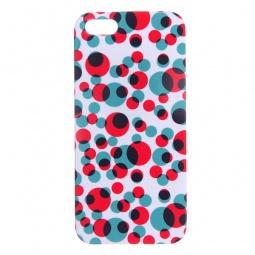 фото Чехол для iPhone 5 Mitya Veselkov «Цветные кружки»