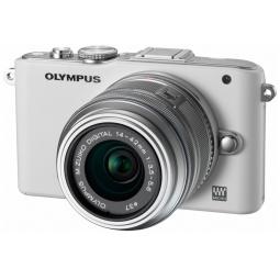 фото Фотокамера цифровая Olympus Pen E-PL3 Kit EZ-M 14-42II. Цвет: белый