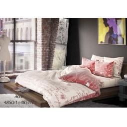 фото Комплект постельного белья Волшебная ночь «Эссе». 1,5-спальный. Размер наволочки: 40х40 см, 50х70 см — 2 шт. Тип ткани: сатин-роял