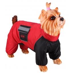 фото Комбинезон-дождевик для собак DEZZIE «Французский бульдог». Материал подкладки: флис. Пол: сука