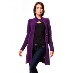 фото Кардиган Mondigo 9701. Цвет: лиловый. Размер одежды: 44