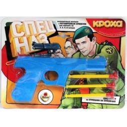 фото Оружие игрушечное Кроха Пистолет большой Спецназ