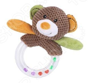 Игрушка-погремушка Жирафики «Мишка» 93674 игрушка