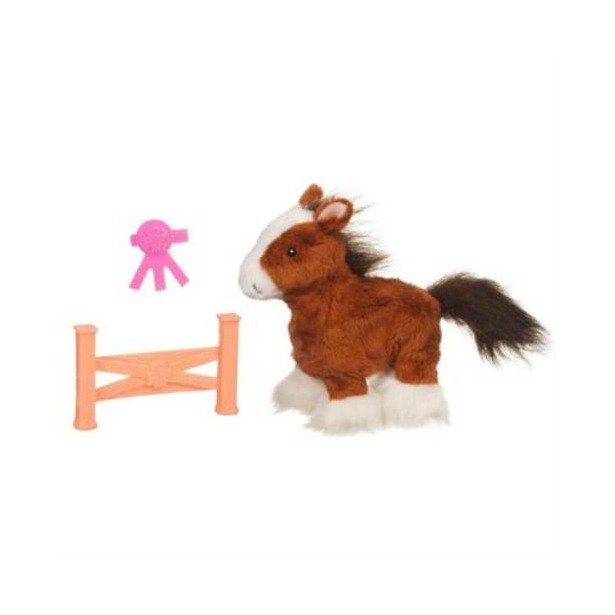 фото Мягкая игрушка интерактивная Hasbro «Ходячий пони». Цвет: бежевый