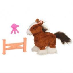 фото Мягкая игрушка интерактивная Hasbro «Ходячий пони». Цвет: коричневый