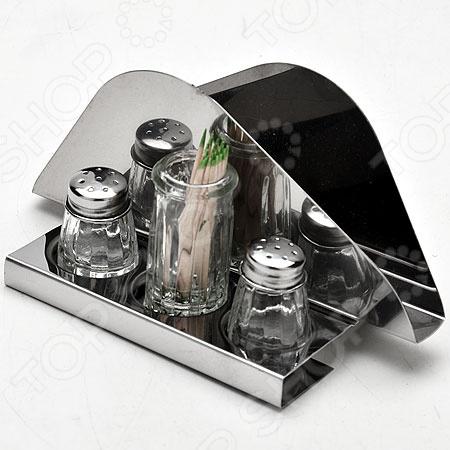 Набор для специй на подставке Super Kristal SK-2530 набор кухонных принадлежностей super kristal sk 3446