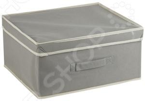 Короб с крышкой White Fox WHHH10-342 Standart  откидной короб 9 ячеек красный прозрачный стелла fox 101