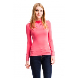 фото Водолазка Mondigo 146. Цвет: коралловый. Размер одежды: 46