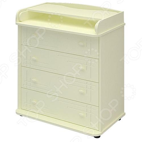 фото Комод пеленальный Алмаз мебель «Цезарь» ЯВ118586, Комоды детские