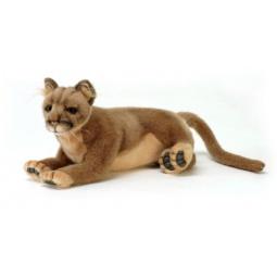 фото Мягкая игрушка для ребенка Hansa «Пума лежащая»