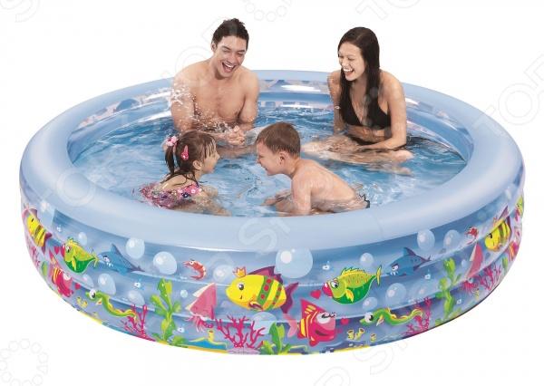 Бассейн надувной Jilong Aquarium Pool JL017027NPFНадувные бассейны<br>Бассейн надувной Jilong Aquarium Pool JL017027NPF яркий детский бассейн, который принесет море прямо к вам на задний двор, а также улыбку на лице детишек. Бассейн может быть установлен практически на любой площадке. Отличное решение для родителей, которые хотят искупать или просто приучить своих детей не бояться воды. Разумная цена, хорошее качество и море позитива.<br>