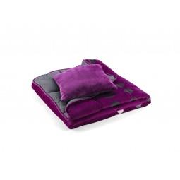 Купить Покрывало для кровати Dormeo Symphony 3 в 1. 2-спальный. Цвет: фиолетовый