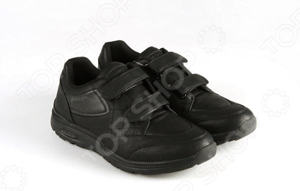 Ботинки адаптивные мужские Walkmaxx. Цвет: черный
