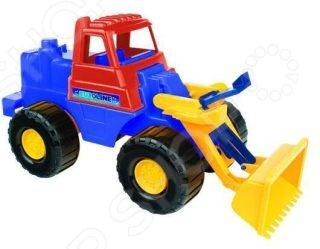Машинка игрушечная Нордпласт «Трактор Носорог» машинка игрушечная нордпласт трактор байкал с грейдером