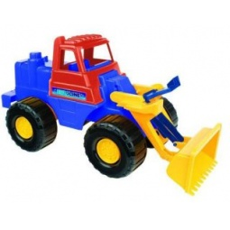 фото Машинка игрушечная Нордпласт «Трактор Носорог»