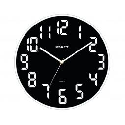 фото Часы настенные Scarlett SC-55WT