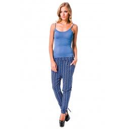 фото Брюки Mondigo 8644. Цвет: джинсовый. Размер одежды: 46