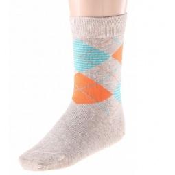 Купить Комплект носков детский Teller Argyle. Цвет: бежевый, розовый