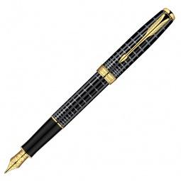 Купить Ручка перьевая Parker Sonnet F531 Premium Dark Grey Laquer GT
