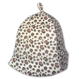 фото Шапка банная EVA «Леопард»