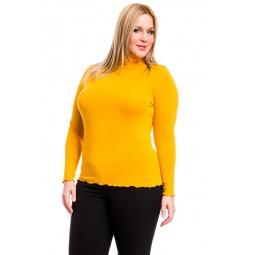 фото Водолазка Mondigo XL 1474. Цвет: ярко-горчичный. Размер одежды: 48