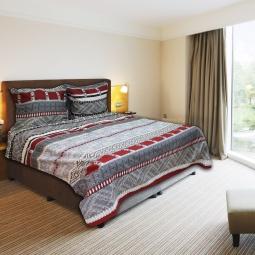 фото Комплект постельного белья Amore Mio Cage GY. Naturel. 1,5-спальный