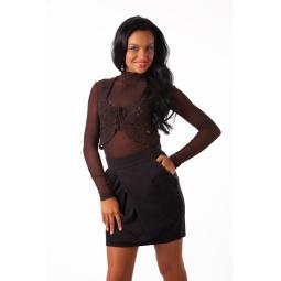 фото Жилет Mondigo 9831. Цвет: коричневый. Размер одежды: 44
