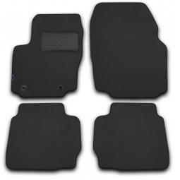 Комплект ковриков в салон автомобиля Novline-Autofamily Citroen C5 2008. Цвет: черный - фото 7