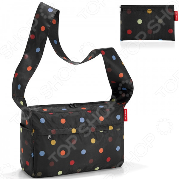 Сумка складная Reisenthel AL7009 Mini Maxi Citybag Dots дождевики reisenthel дождевик mini maxi azure dots