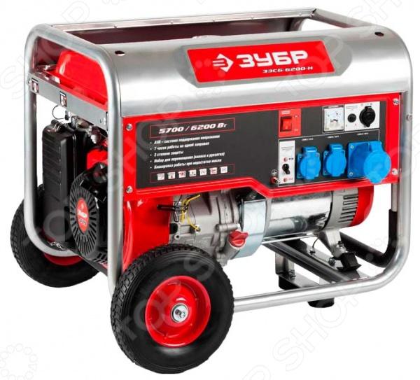 Генератор бензиновый Зубр ЗЭСБ-6200-Н Зубр - артикул: 590033