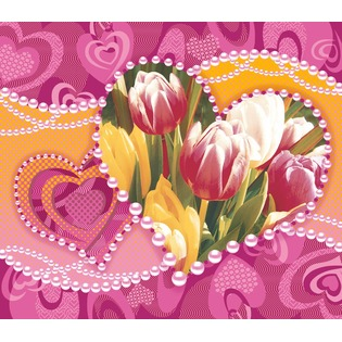 Купить Полотенце вафельное ТексДизайн «Валентина»
