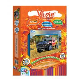 Купить Картинка объемная Vizzle Внедорожник