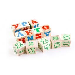 Купить Кубики Томик «Алфавит с цифрами»