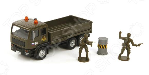 Модель коллекционная Пламенный Мотор «Армейский грузовик»