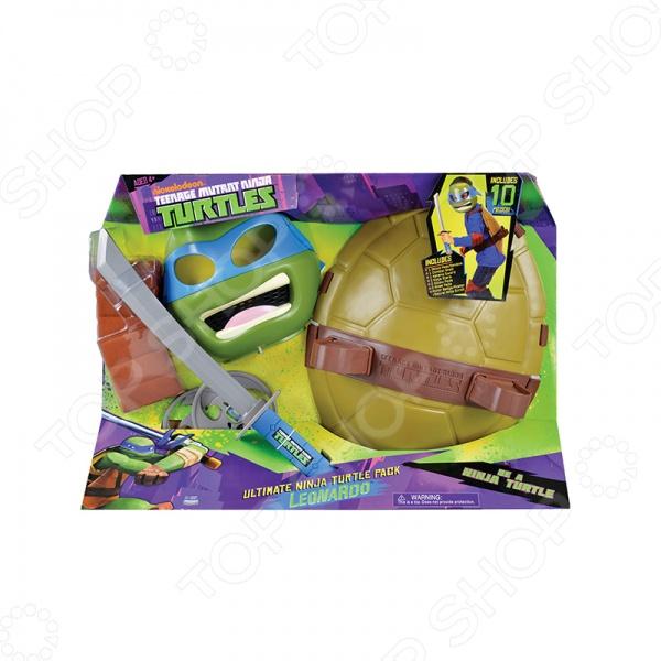 Набор боевого снаряжения Nickelodeon «Черепашки-Ниндзя» трицикл с фигуркой черепашки ниндзя