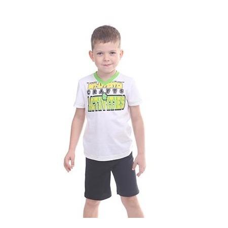 Купить Комплект для мальчика: футболка и шорты Свитанак 606497